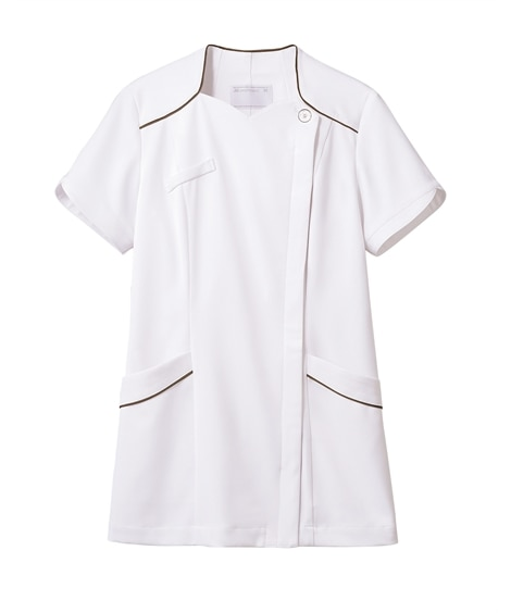 MONTBLANC 73-2202 ナースジャケット(半袖)(女性用) ナースウェア・白衣・介護ウェア