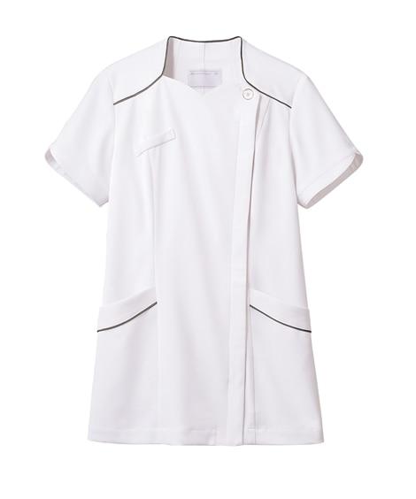 MONTBLANC 73-2206 ナースジャケット(半袖)(女性用) ナースウェア・白衣・介護ウェア
