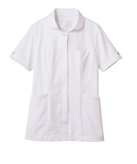 MONTBLANC 73-2224 ナースジャケット(半袖)(女性用) ナースウェア・白衣・介護ウェア
