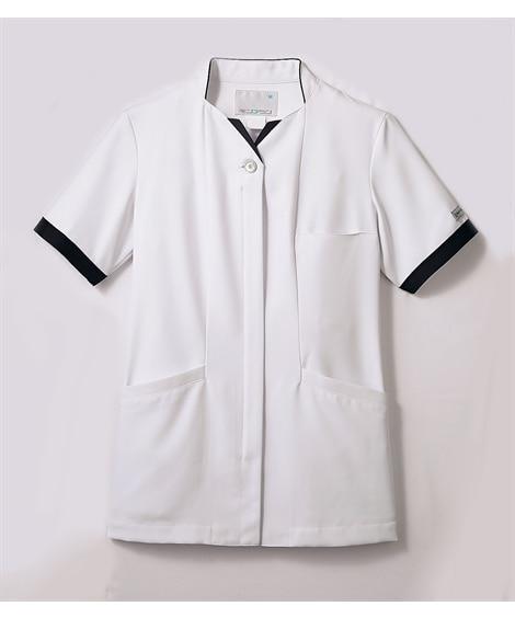 PROFESSIONAL PRIDES PP302-19 半袖ナースジャケット(レディス) ナースウェア・白衣・介護ウェア