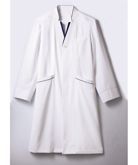 MONTBLANC 71-849 長袖ドクターコート(メンズ) ナースウェア・白衣・介護ウェア