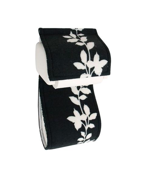 モノトーンのシンプルなペーパーホルダーカバー ペーパーホルダーカバー・トイレスリッパ, Toilet goods(ニッセン、nissen)