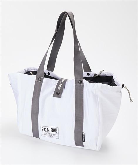 POST GENERAL(ポストジェネラル) パッカブルパラシュートナイロンショッピングバッグ(保冷仕様) トートバッグ・手提げバッグ, Bags