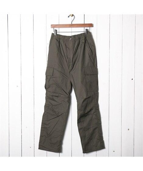 裏フリースカーゴイージーパンツ カーゴパンツ, Pants,...