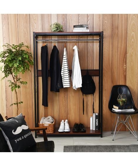 【奥行33cm】使いやすさが詰まったスリムハンガーラック ハンガーラック・ワードローブ, Clothes racks(ニッセン、nissen)