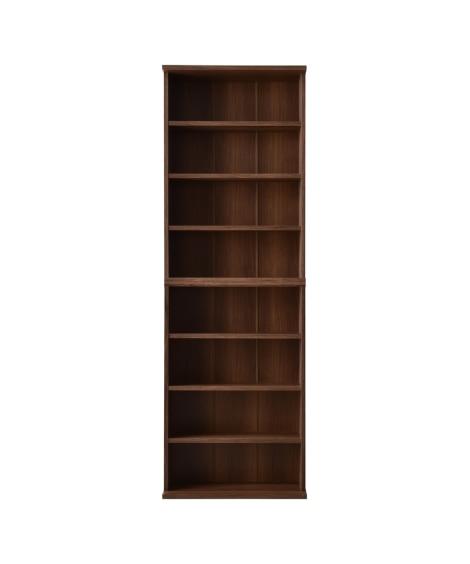 薄型積み重ね本棚2個セット【60cm幅】 書棚・本棚・ブック...