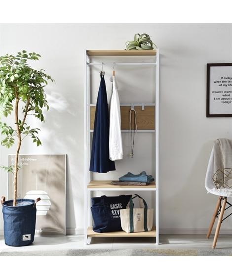 シンプルで機能的なハンガーラック(キャスター付き) ハンガーラック・ワードローブ, Clothes racks(ニッセン、nissen)