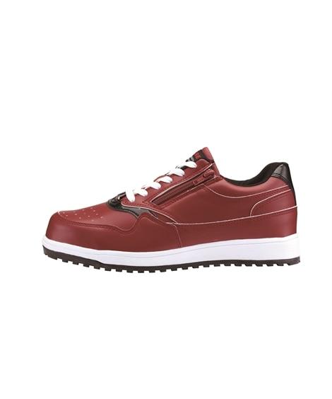 ジーベック 85118 鋼製先芯 耐滑ソールサイドファスナーセフティシューズ(男女兼用) 安全靴・セーフティーシューズ