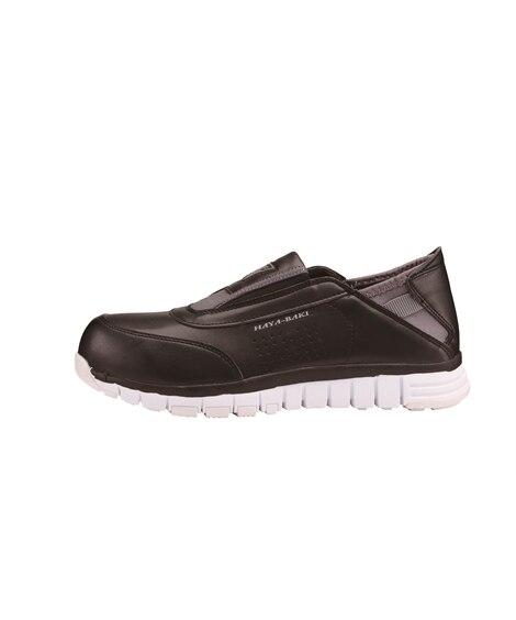 ジーベック 85128 樹脂先芯 踵踏み可能セフティシューズ 安全靴・セーフティーシューズ