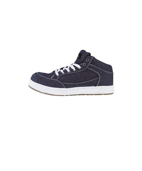 ジーベック 85409 樹脂先芯 キャンバス生地ミッドカットセフティシューズ 安全靴・セーフティーシューズ, Shoes