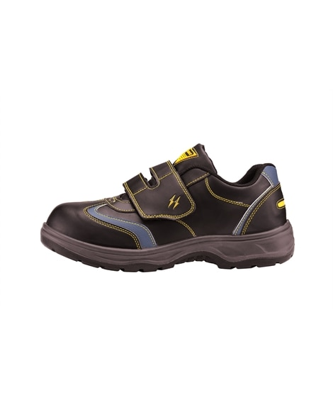ジーベック 85202 樹脂先芯 静電ローカットセフティシューズ 安全靴・セーフティーシューズ