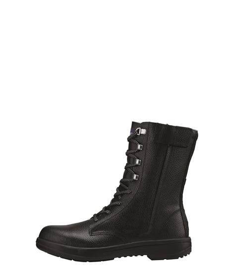 ジーベック 85023 樹脂先芯 サイドファスナー牛革使用セフティシューズ 安全靴・セーフティーシューズ