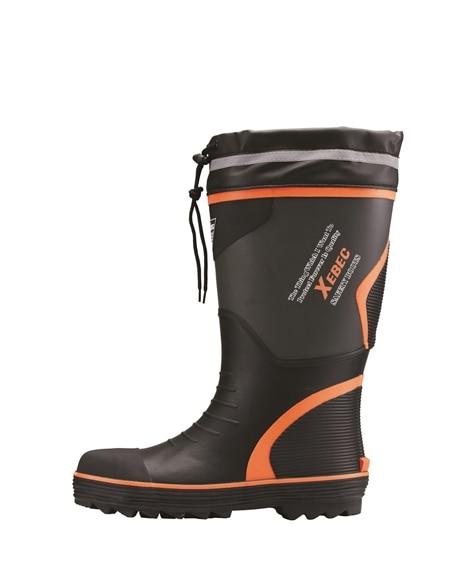 ジーベック 85710 鋼製先芯 胴太設計セフティ長靴 長靴