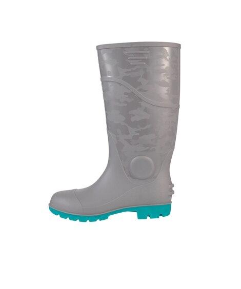 ジーベック 85764 鋼製先芯 防水・耐油PVCセフティ長靴 長靴
