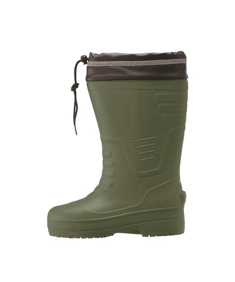 ジーベック 85712 樹脂先芯 ロング丈セフティ防寒長靴(男女兼用) 長靴