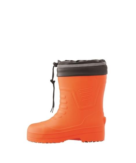 ジーベック 85715 樹脂先芯 ショート丈セフティ防寒長靴(男女兼用) 長靴, Boots