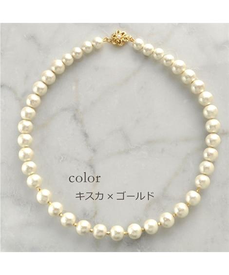 【Rdays】コットンパールネックレス プリンセス ネックレス(ペンダント)