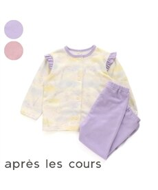 【apres les cours アプレレクール】おめかしパジャマ 10分丈