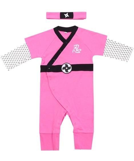 Pokke Poche(ポッケポッシュ)忍者ロンパース2点セット 【ベビー服】Babywear
