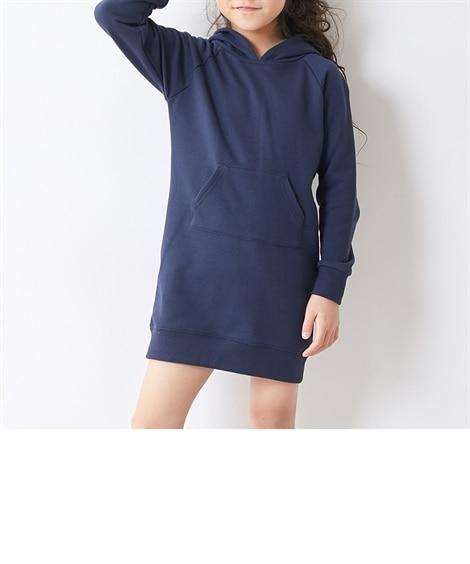 パーカーワンピース(女の子 子供服。ジュニア服) ワンピース, Kids' Dress