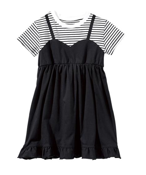 重ね着風ワンピース(女の子 子供服 ジュニア服) ワンピース, Kids' Dress