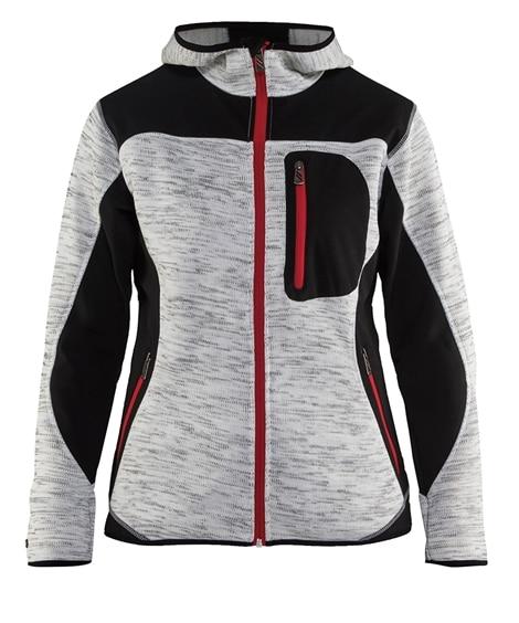 ビッグボーン商事 8220-2117 BLAKLADER レディースニットジャケット 作業服, Jumpers, ?克衫, 夾克衫