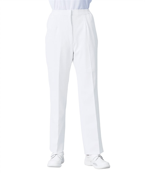 192 KAZEN レディススラックス ナースウェア・白衣・...
