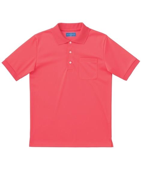 237 KAZEN ポロシャツ半袖 ナースウェア・白衣・介護ウェア