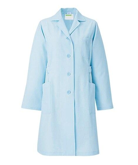 261 KAZEN レディス診察衣 長袖 ナースウェア・白衣・介護ウェア