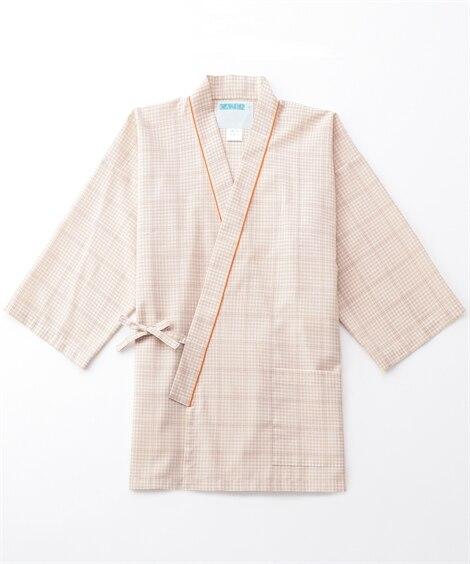 285 KAZEN 患者衣(甚平型) ナースウェア・白衣・介護ウェア