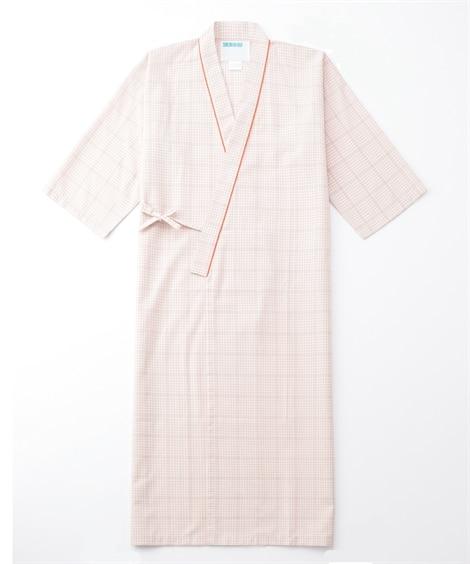 289 KAZEN 患者衣ガウン式 ナースウェア・白衣・介護...