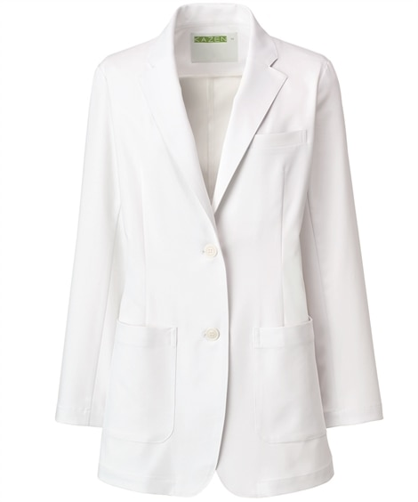 KZN112 KAZEN レディスブレザー ナースウェア・白衣・介護ウェア