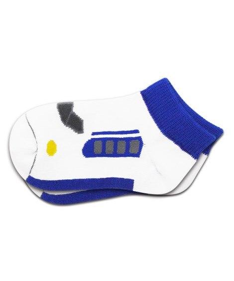 【駅鉄】鉄下 0系 キッズ靴下, Kid's Socks