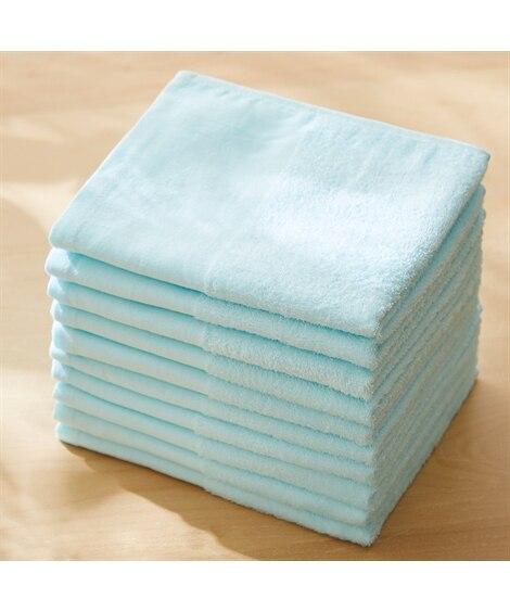 細雪 フェイスタオル同色10枚セット フェイスタオル, Towels(ニッセン、nissen)
