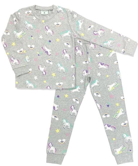 【ディアコロン】 パジャマ キッズ 長袖 綿100% 子供 女の子 男の子 上下セット dk002 キッズパジャマ, Kids' Pajamas