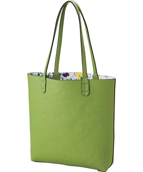 A4の入る花柄リバーシブルトート トートバッグ・手提げバッグ, Bags