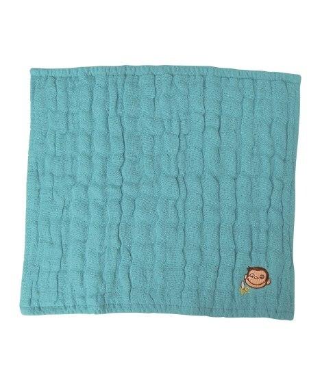おさるのジョージ CG 5重ガーゼハンカチ BL 【ニコット Nicott】 ハンドタオル・タオルハンカチ, Towels(ニッセン、nissen)
