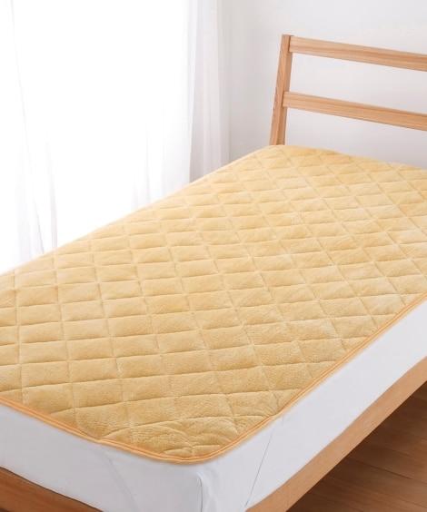 ウォームコア 吸湿発熱×蓄熱保温わた あったか敷パッド 敷きパッド・ベッドパッドの写真