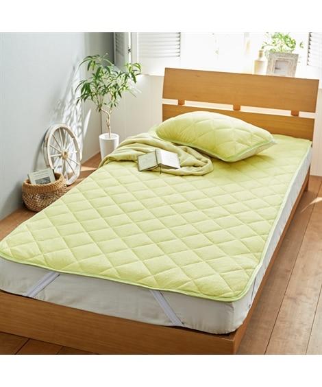 綿100%タオル地敷きパッド 敷きパッド・敷パッド, ベッド...