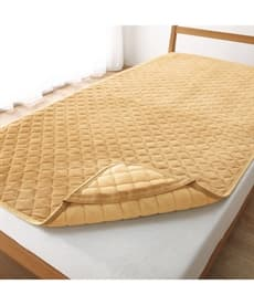 リバーシブル敷パッド 敷きパッド・ベッドパッドの商品画像