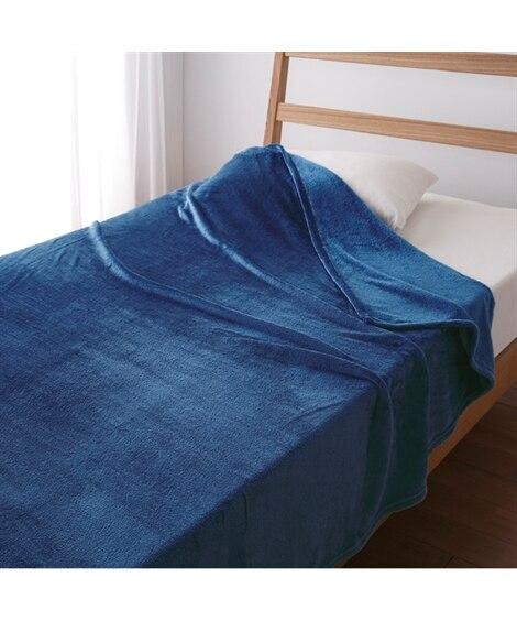 ウォームコア 吸湿発熱 かるfuwaフランネル毛布 毛布・ブ...