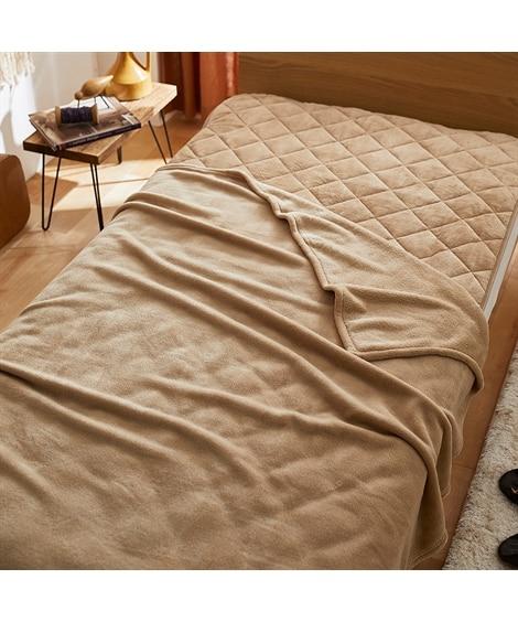 マイクロふんわり軽量毛布・敷きパッドセット 毛布・ブランケット, Beddings, 寝具(ニッセン、nissen)