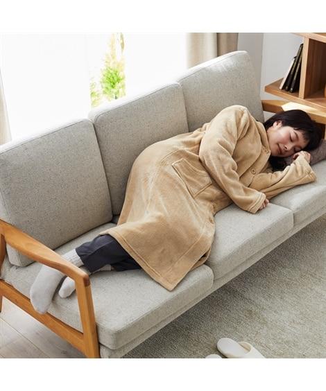 マイクロふんわりフード付着る毛布 毛布・ブランケット, Beddings, 寝具(ニッセン、nissen)