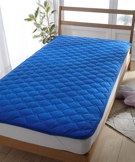 吸汗速乾ドライニット敷パッド 敷きパッド・ベッドパッド...