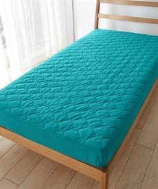 吸汗速乾ドライニット一体型ボックスシーツ 敷きパッド・ベッドパッドの商品画像