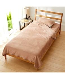 ひんやりとろみが気持ちいいレーヨン100%タオル地 敷布団にも使えるボックスシーツ型敷パッドセット 敷きパッド・ベッドパッドの商品画像