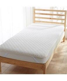 マイクロファイバー×綿100%タオル地リバーシブル敷パッド 敷きパッド・ベッドパッドの商品画像