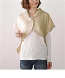 ウォームコア 吸湿発熱かるfuwaフランネル ポンチョ毛布 毛布・ブランケットの商品画像