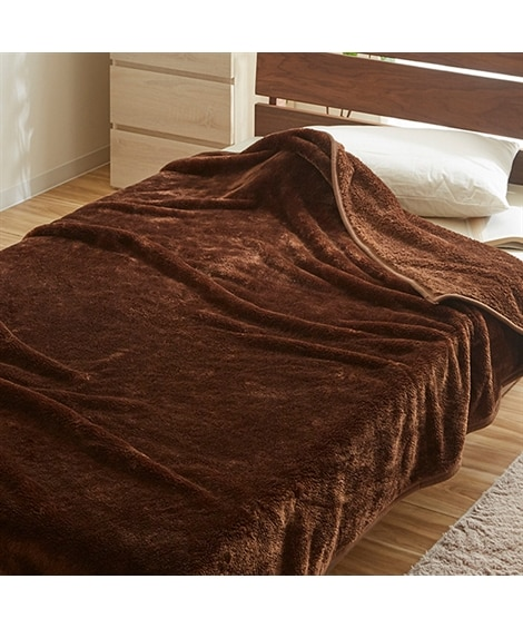 ウォームコア 吸湿発熱 ふっくらあたたか毛布 毛布・ブランケ...