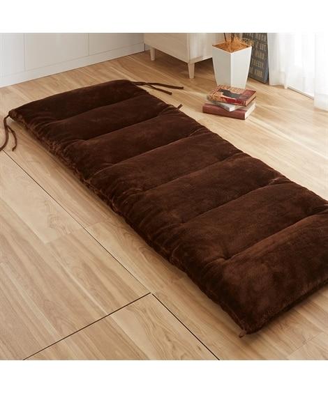 ウォームコア 吸湿発熱 ふっくらごろ寝クッション 敷布団の写真